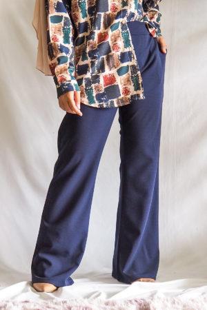 BOOTCUT PANT IN BLUEBLACK